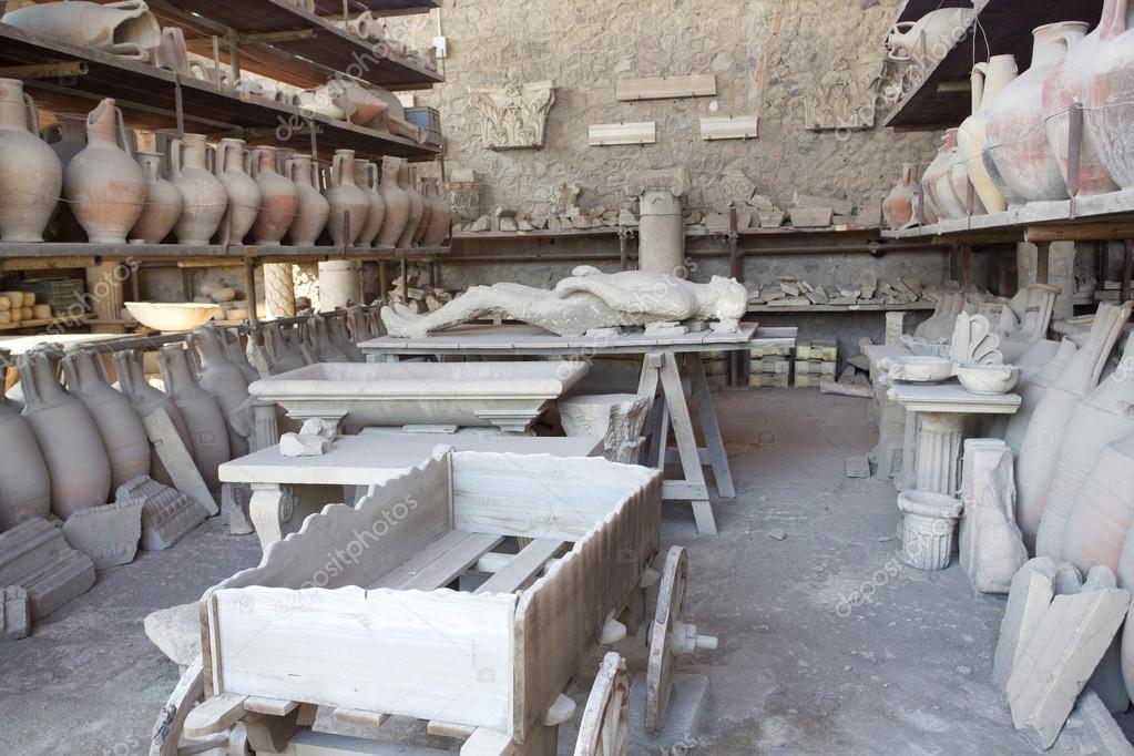 Speicher wirft in pompeji zeigen besetzung von k rper und for 2533 raumgestaltung und entwerfen