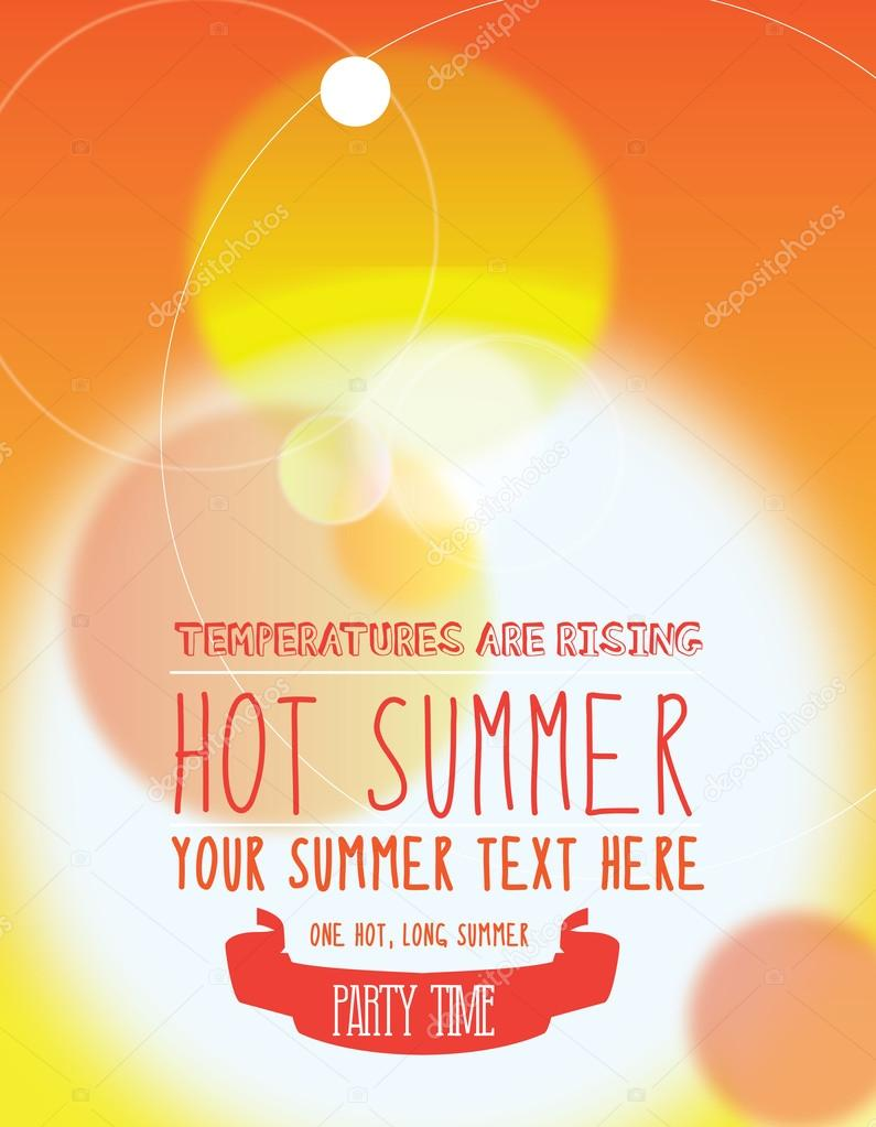 summer party invite or poster stock photo joingate 46139169