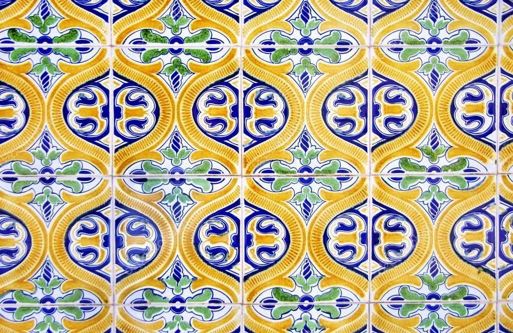 Azulejos tradicionais portugueses marim no algarve stock photo inaquim 48302473 - Azulejos portugueses comprar ...