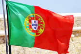 Fotografie Flag of Portugal in the wind