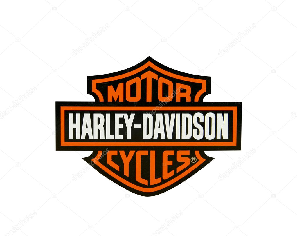 Harley Davidson Stock: Stock Editorial Photo