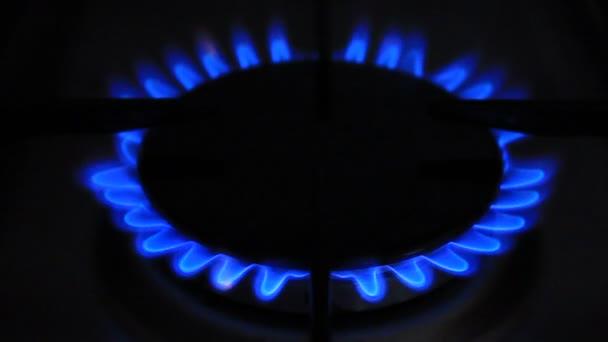 blaues Erdgas