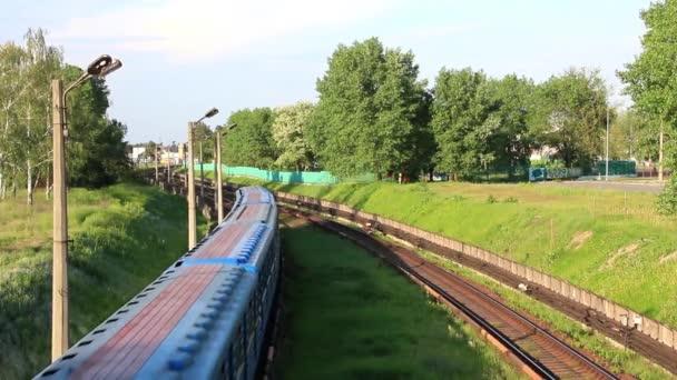 Metro. nadzemní železnice