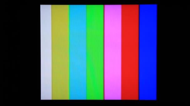 TV. Generátor barevných pruhů