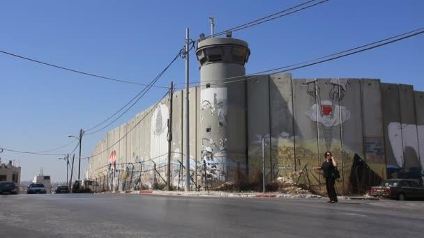 bezpečnostní zeď v Izraeli betlém