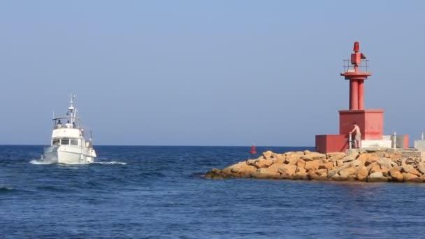 lodě v přístavu el kantaoui Tunisko sousse