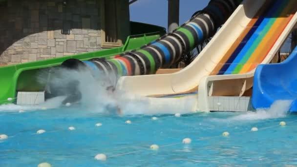 Recreation area with aquapark