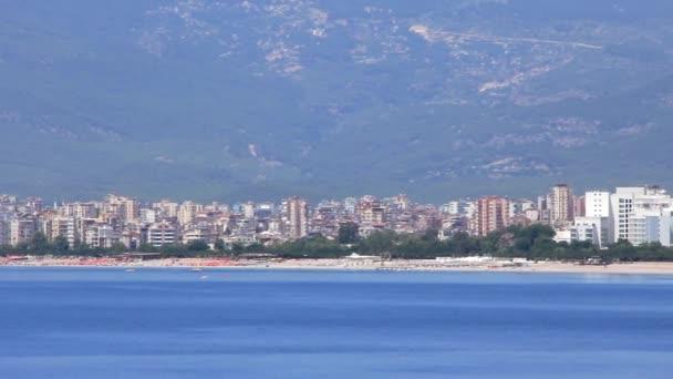 Seacoast konyalty okres antalya, Turecko