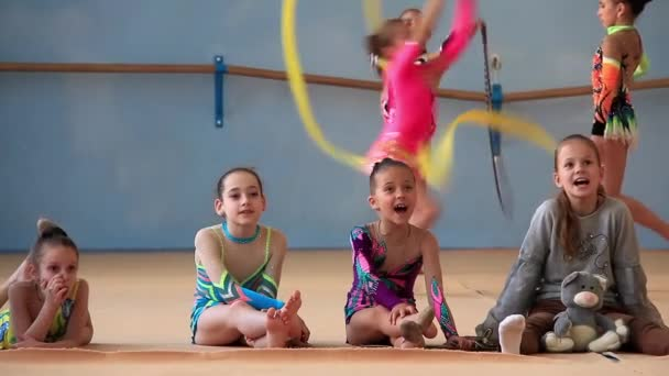 Training young gymnasts