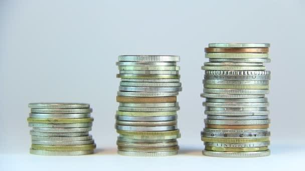 muž překrývání mince