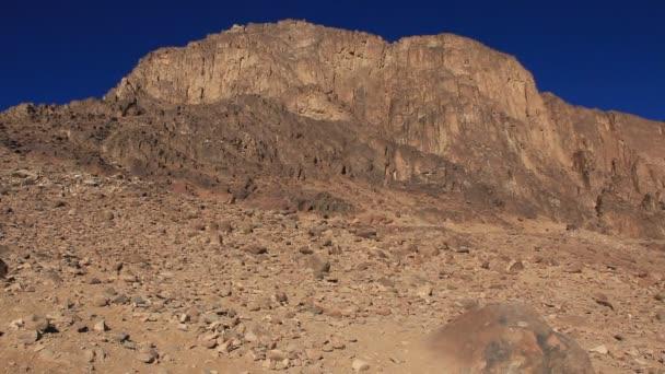heiliger Ort - Mosesberg. Sinai-Halbinsel. Ägypten
