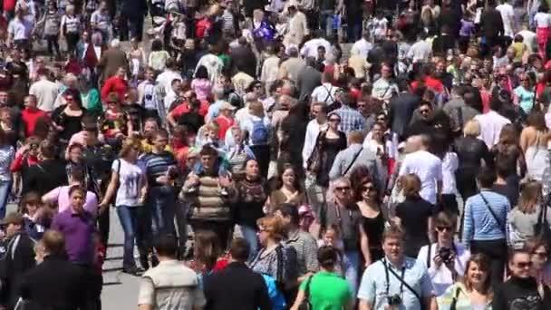 Kijev, Ukrajna, május 9-én, 2012: az ünnepi felvonulás szentelt a 67. évfordulója alkalmából győzelmet a Nagy Honvédő Háború (world war ii), Kijev, Ukrajna, május 9, 2012