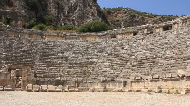 altgriechisch-römisches Amphitheater. myra alter name - demre truthahn