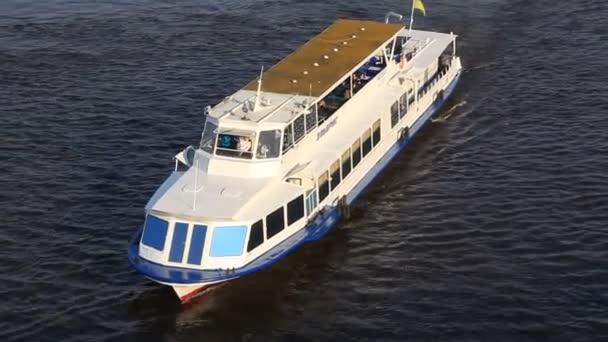 White motor vessel