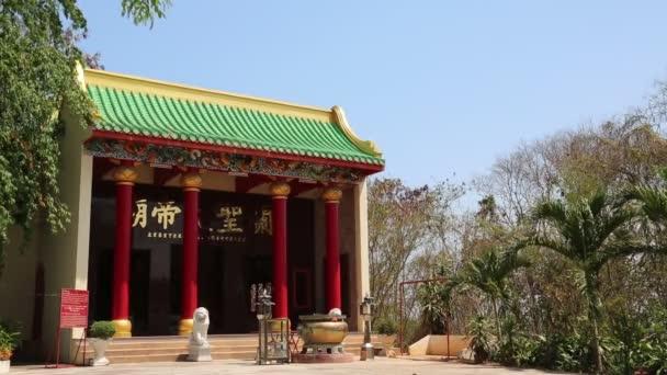 Buddhist temple in Pattaya, Thailand