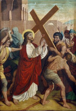 2nd Stations of the Cross