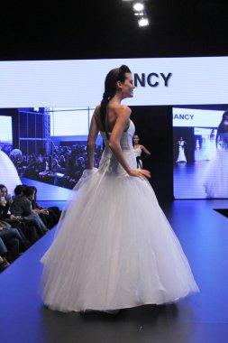 Wedding dress fashion show