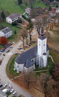 Assumption of the Blessed Virgin Mary church, Nova Raca, Croatia