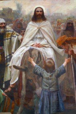 Jesus' triumphal entry into Jerusalem