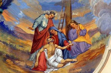 "Картина, постер, плакат, фотообои ""Осаждения с Креста"", артикул 14276573"