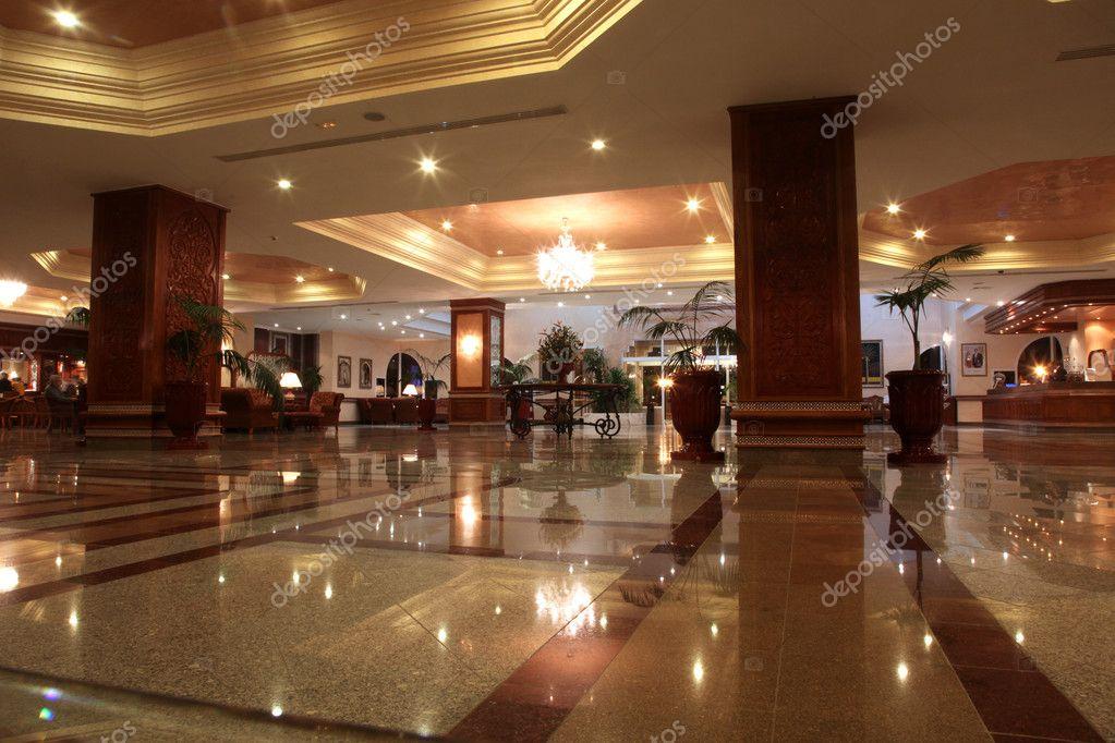 Modern Hotel Lobby modern hotel lobby — stock photo © zatletic #15319185