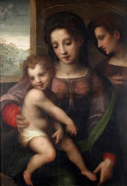"""Картина, постер, плакат, фотообои """"мадонна с ребенком """", артикул 15496353"""