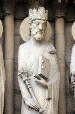 King Solomon, Notre Dame Cathedral, Paris