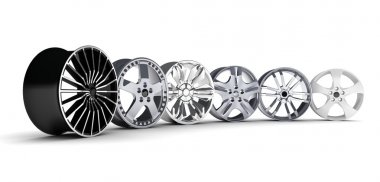 six car rims