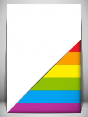 Gay Pride Flag Letter Document