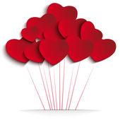 Fotografia palloncini cuore San Valentino