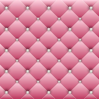 Luxury pink background with pearl stock vector