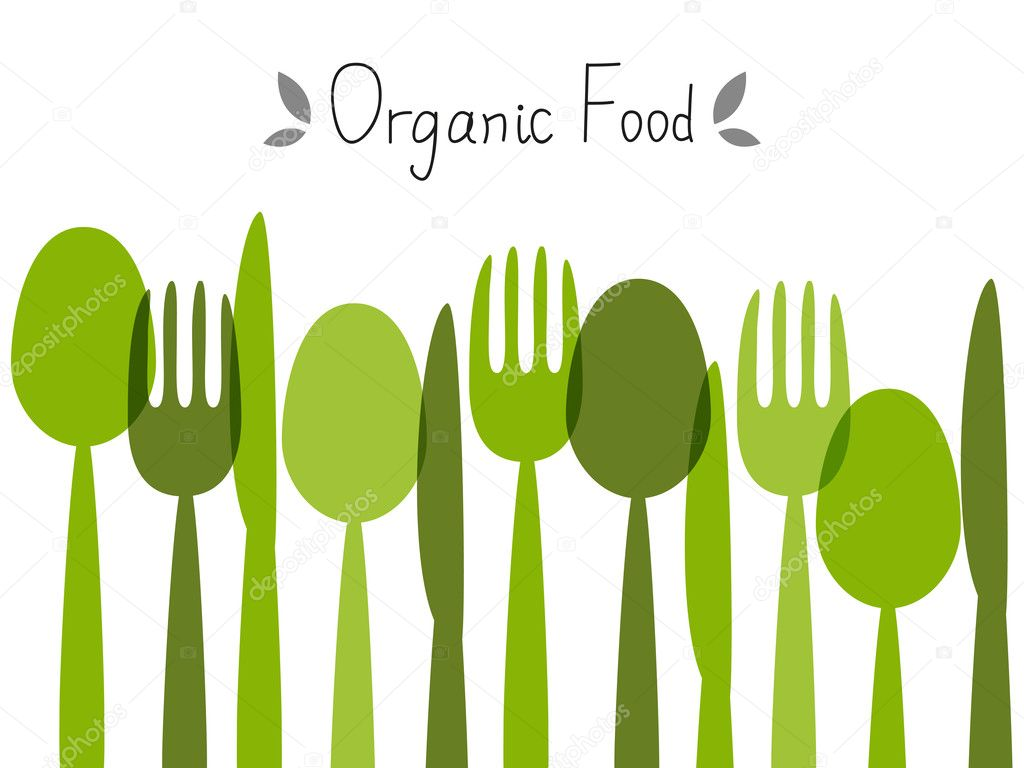 Food Background organic food background — stock vector © huhli13 #27131967