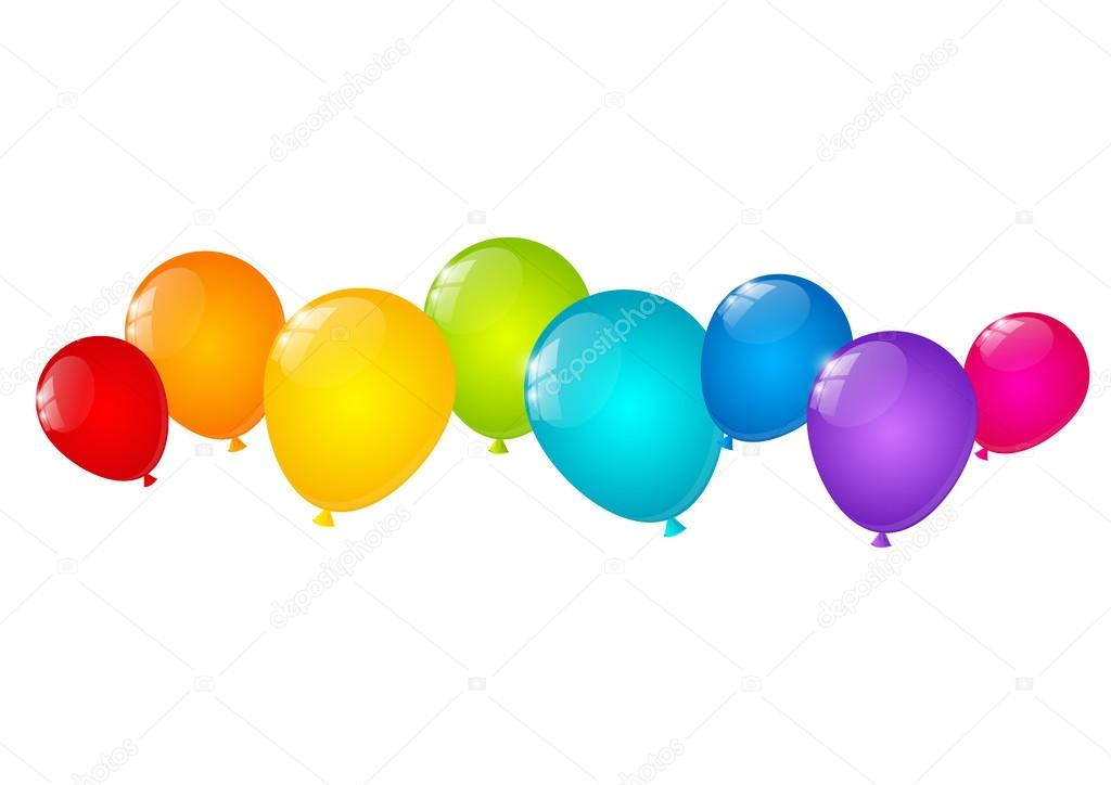 Color balloons border for your design stock vector huhli13 45017507 color balloons border for your design stock vector thecheapjerseys Gallery