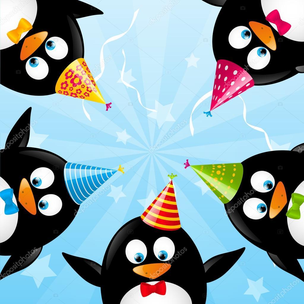 Красивые открытки с пингвинами, картинки анимации