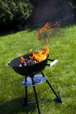ateş, sıcak ızgara