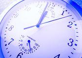 Photo Close up of a clock