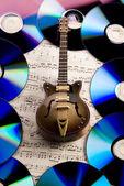 Fotografia Note  chitarra