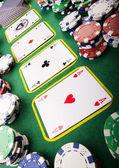 Fotografia un gioco di carte