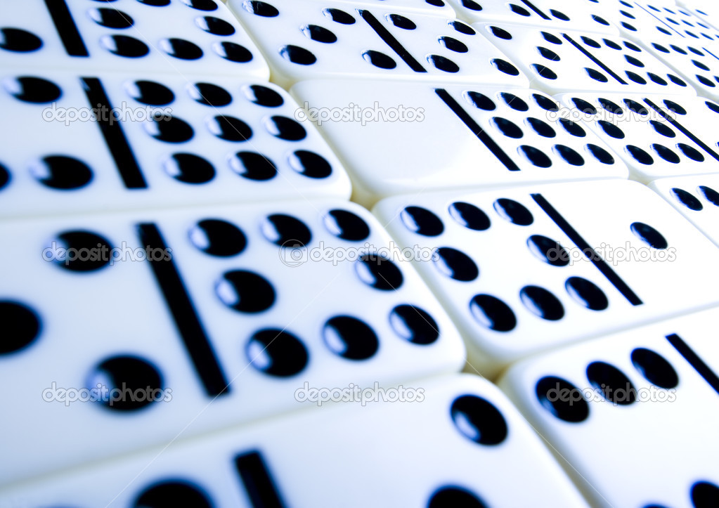 Fondo de Domino — Foto de stock © JanPietruszka #30814755