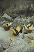 Photo Baskets of sulfur
