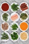 čerstvé bylinky a koření
