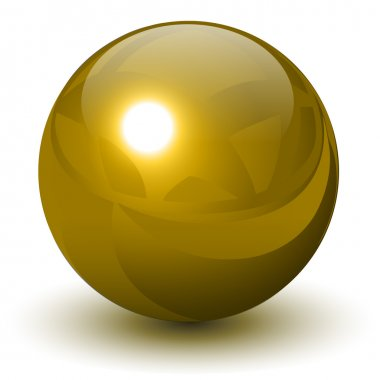 Gold sphere