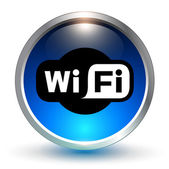 WiFi modrý symbol