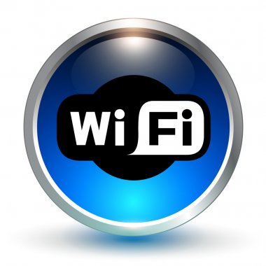 wifi blue symbol