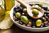 Fotografie olivový olej