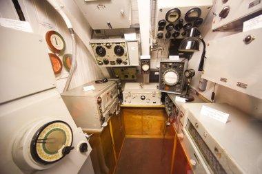 German world war 2 submarine type VIIC/41 - sonar compartment