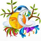 slunce a měsíc