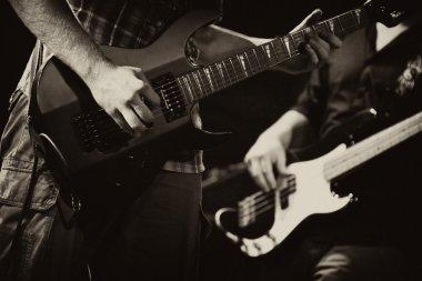 Rock band guitars