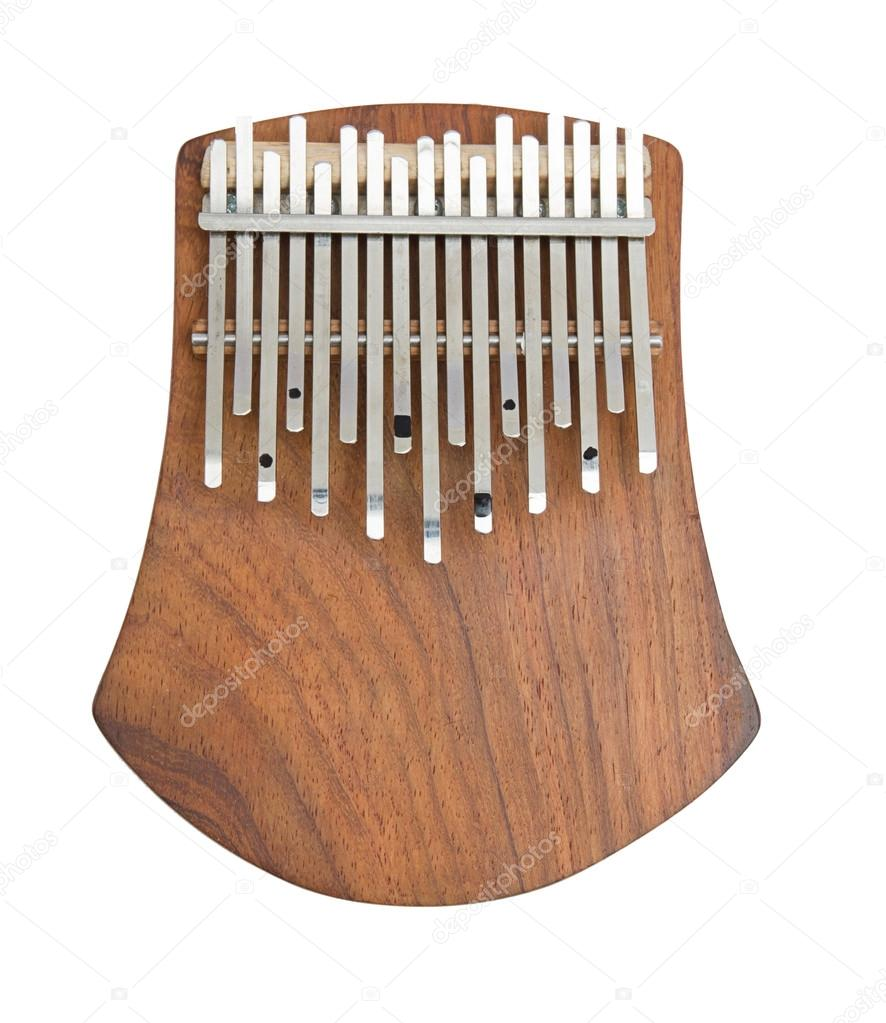 African instrument kalimba — Stock Photo © sethislav #37276205