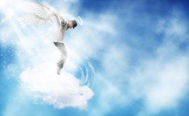 Dancing Angel in the sky